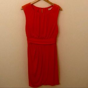 Trina Turk Pleated-Front Grecian Style Dress